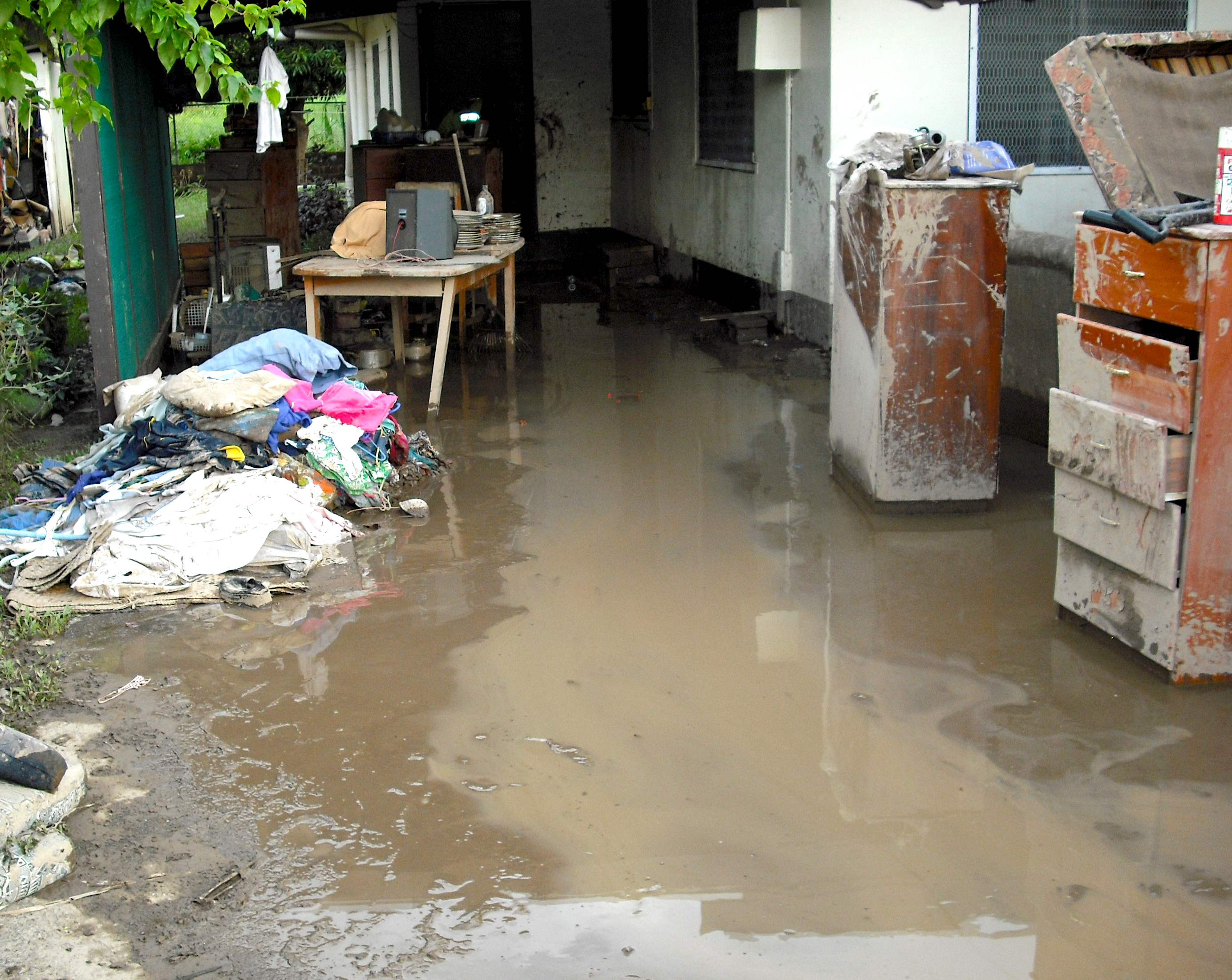 flooding water damage house san jose